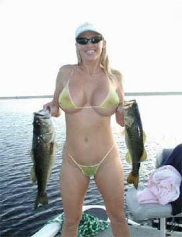 Fish babes topless 7